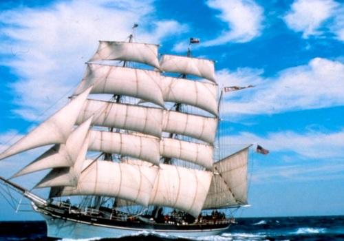 Image result for Elissa, a landmark tall ship in the port galveston
