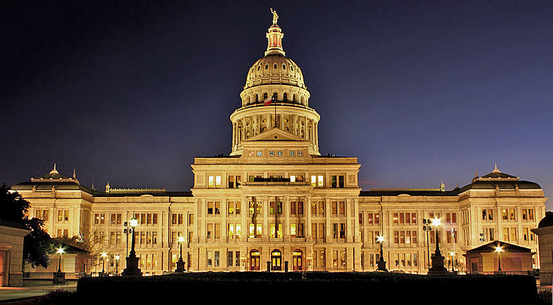 History Of Austin State Capitol Building