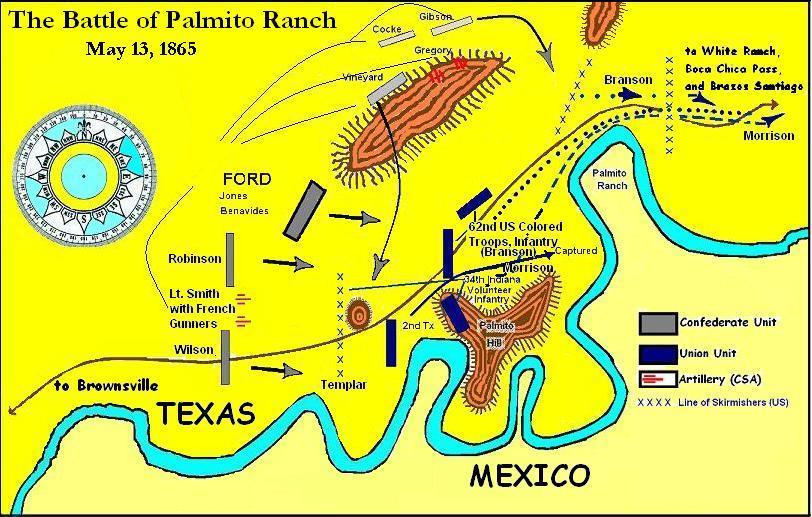 Image result for Battle of Palmito Ranch
