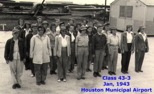 Class 43-3, January 1943, Houston Municipal Airport