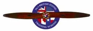 No. British Training School Logo