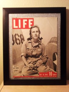 Shirley Slade, trainee, Avenger Field, July 19, 1943 LIFE magazine