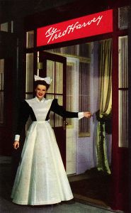 Judy Garland in 1946 musical, The Harvey Girls