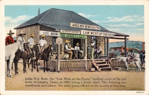 Postcard--Jersey Lilly Saloon