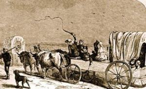 Transportation to the Texas interior