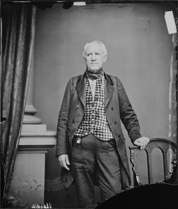 Sam Houston, photo by Mathew Brady