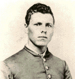 Only known wartime photo of Milton Holland in uniform, c. 1863 or '64 Wikipedia.