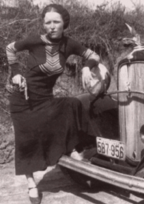 Bonnie Parker/Cigar