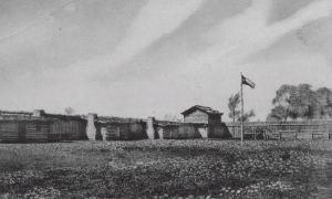 Fort Parker in 1936
