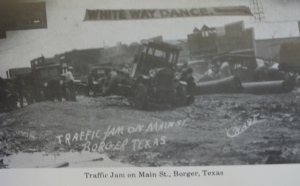 Traffic Jam, Main Street, Borger