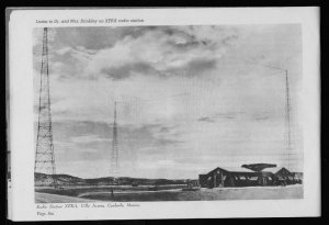 Villa Acuna, Mexico, Radio Transmitting Station