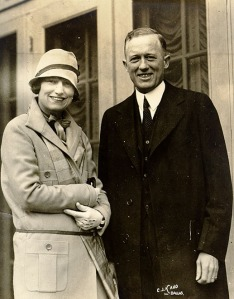 Gov. Daniel Moody and his wife, Mildred Paxton Moody