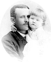 Post and daughter, Marjorie Merriweather Post