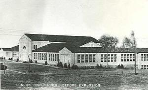 New London High School constructed in 1932