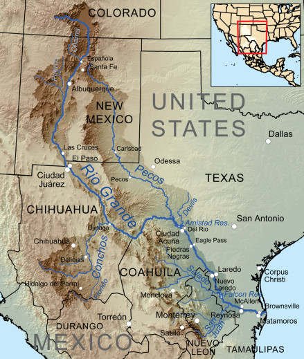 Rio Grande Map