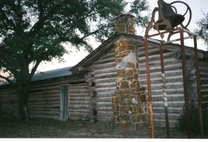 Replica of Wallace home in Bigfoort