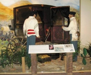 Display at Illinois State Military Museum, photo Sangamon County Historical Society