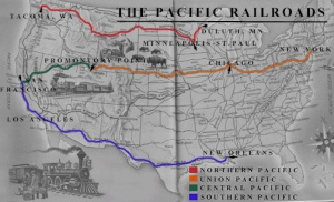 Route of the Southern Transcontinental Railroad