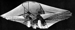 1901 Photo of original airship