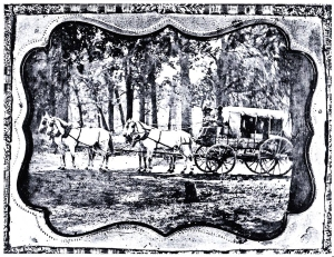 Celerity Wagon copy of daguerreotype-Nita Stewart Haley Memorial Library Midland, TX