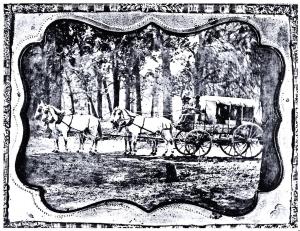 Celerity Wagon copy of daguerreotype-Nita Stewart Haley Memorial Library Midland, TX