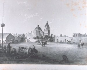 San Fernando Church on the Plaza in the 1800s Wikipedia