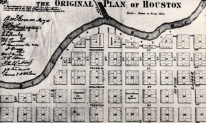 Original Plan of Houston