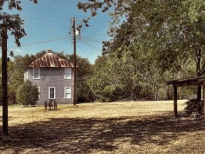 Residences' living quarters, Kaufman County Poor Farm