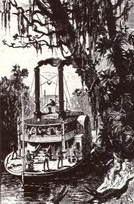 Steamboat on Buffalo Bayou