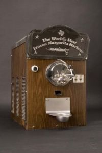 Original frozen margarita machine on display at the Smithsonian's National Museum of American History