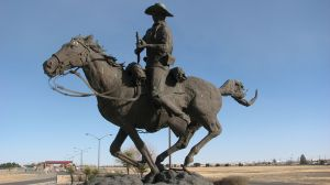 Buffalo Soldier Memorial of El Paso, Fort Bliss. Wikipedia